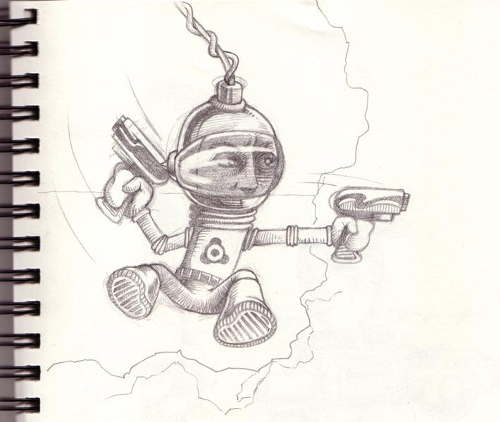 crazy3dman's 2D sketchin - What Now?